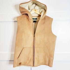 Ralph Lauren   Equestrian Supply Fleece lined vest
